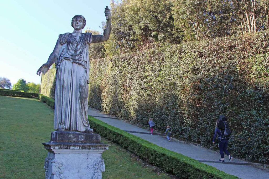 what to do with kids in florence? Let them run around one of Florence's beautiful gardens