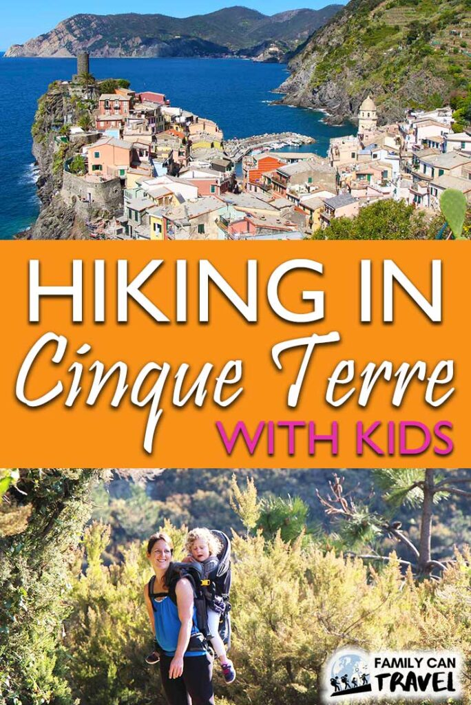 Hiking in Cinque Terre with Kids