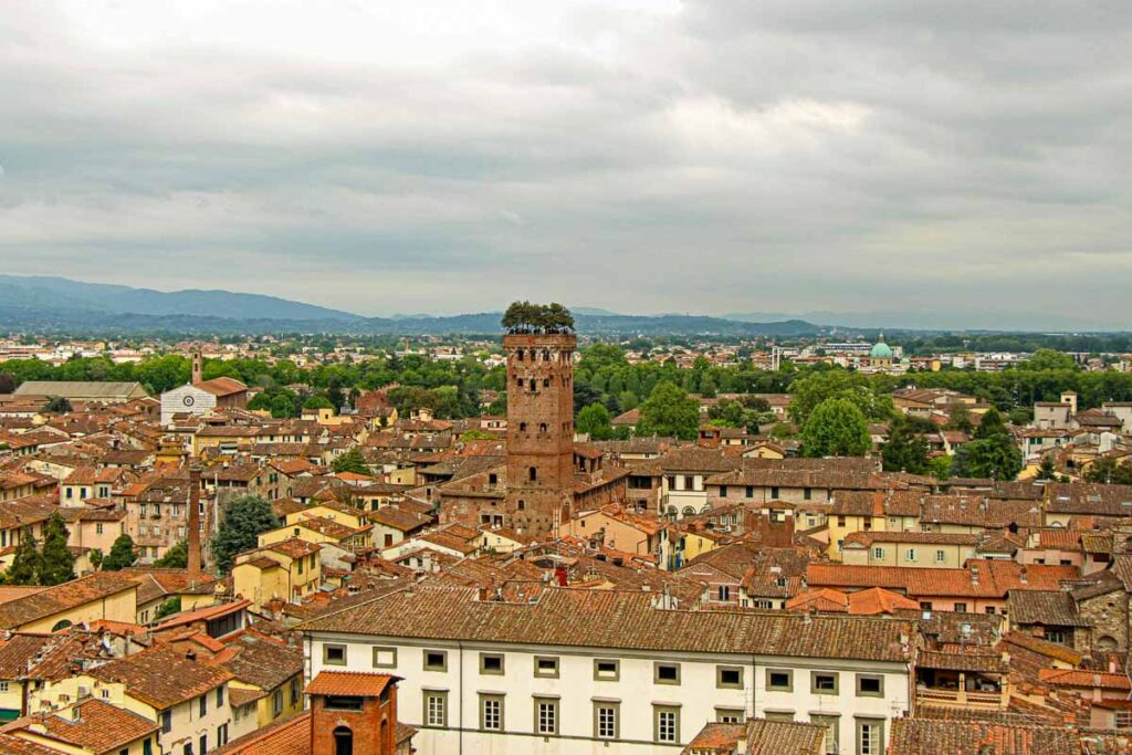 When visiting Lucca with children, consider climbing the Torre della Ore