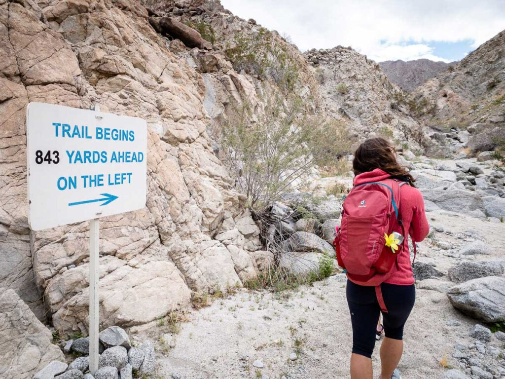 The boulder field on the Wilderness Loop make it a fun, kid-friendly Palm Desert hike