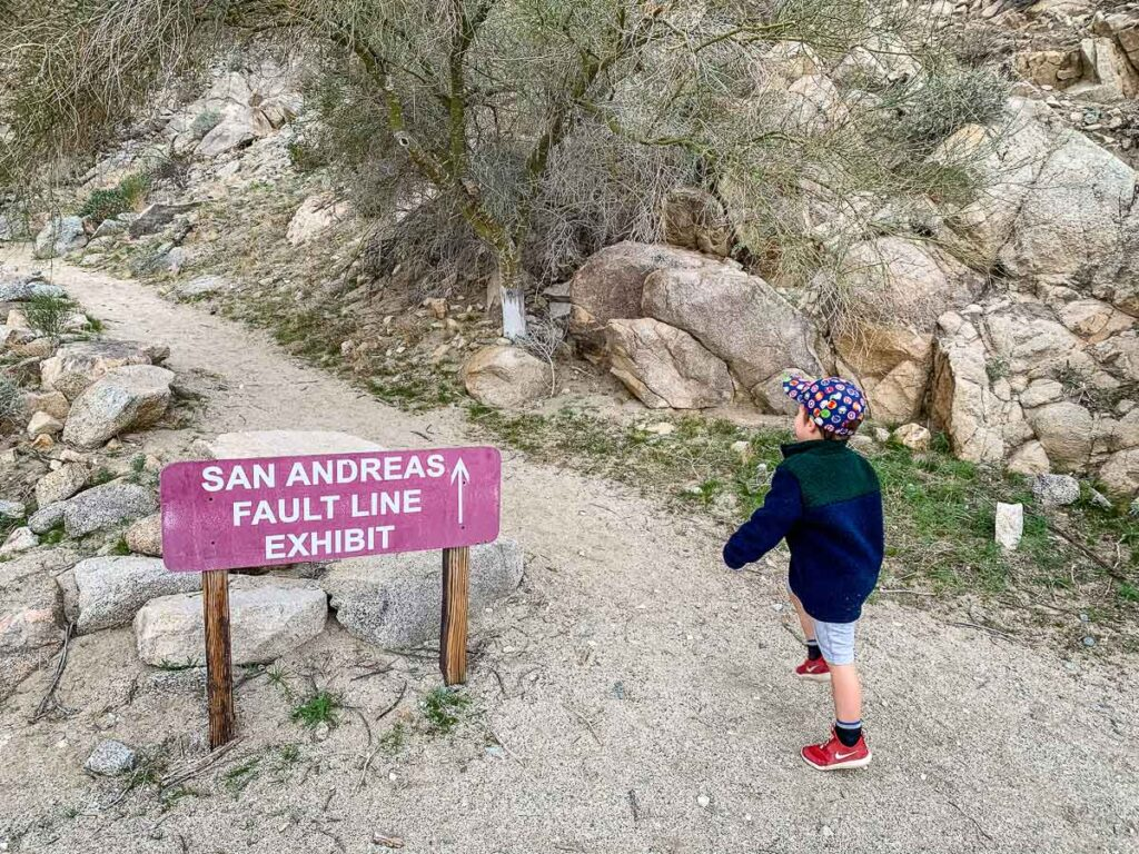 Teach kids about the San Andreas Fault at the Palm Springs Zoo