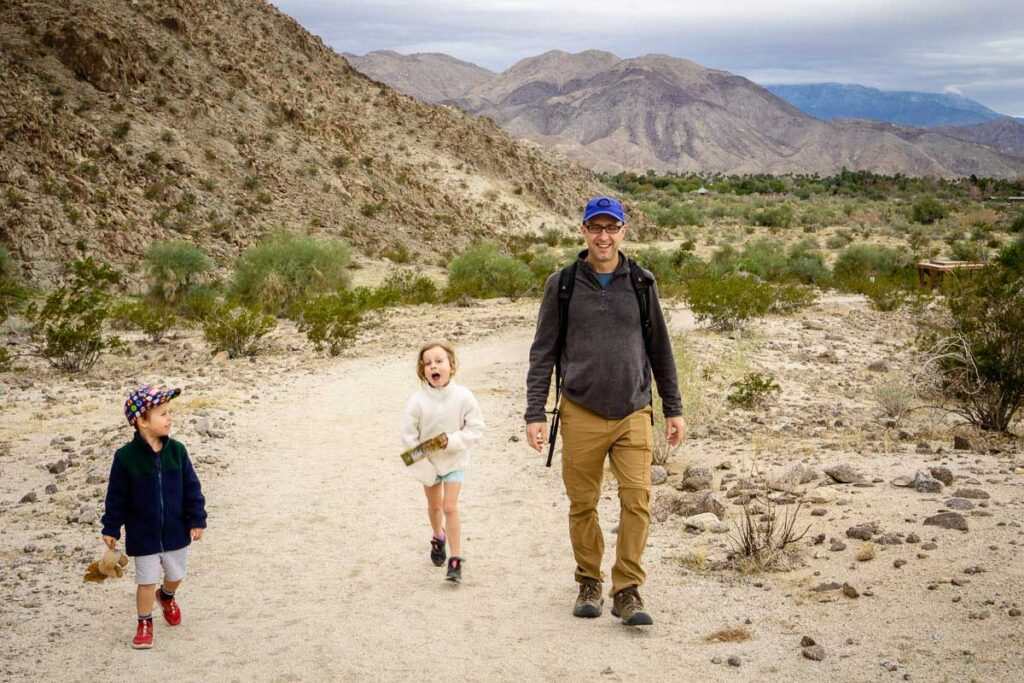 kid-friendly Palm Desert trails at the zoo