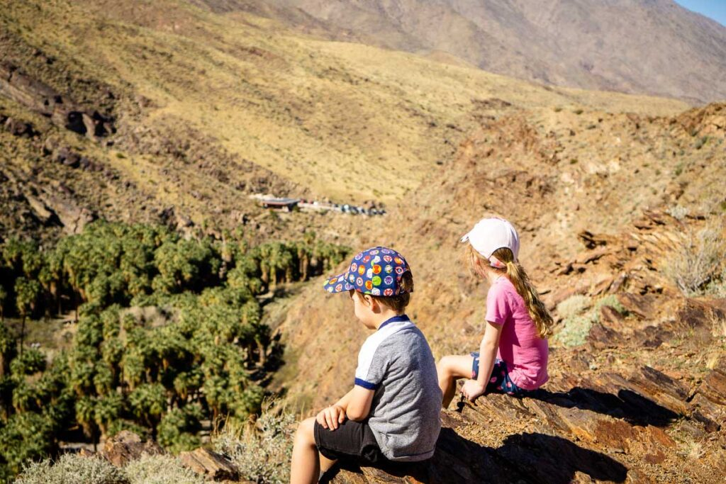 Show your kids the size of the Palm Springs palm tree oasis by hiking the Victor Trail