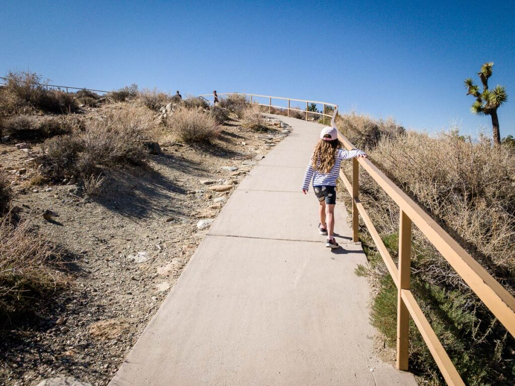 things to do in Joshua Tree with kids - Keys View Scenic Lookout