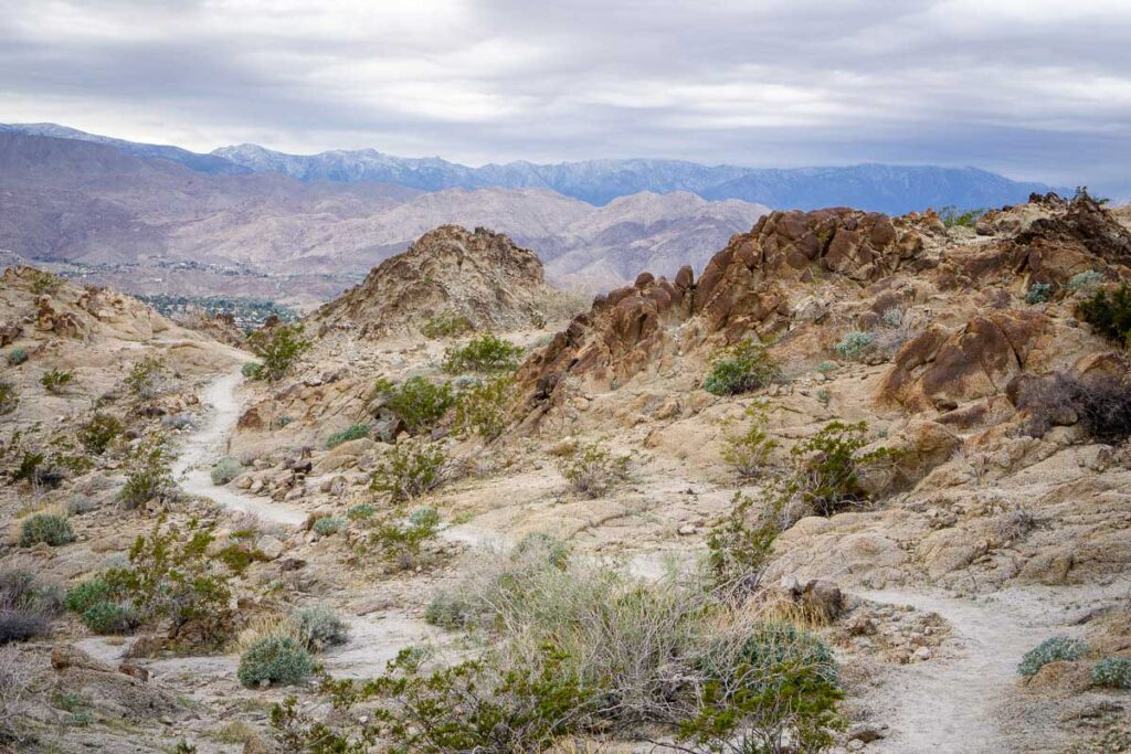 Hike the Wilderness Loop to enjoy views of Palm Desert from Eisenhower Mountain