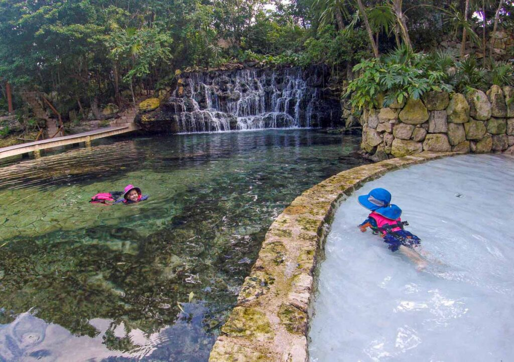 Children's World is a fun place at Xcaret for kids