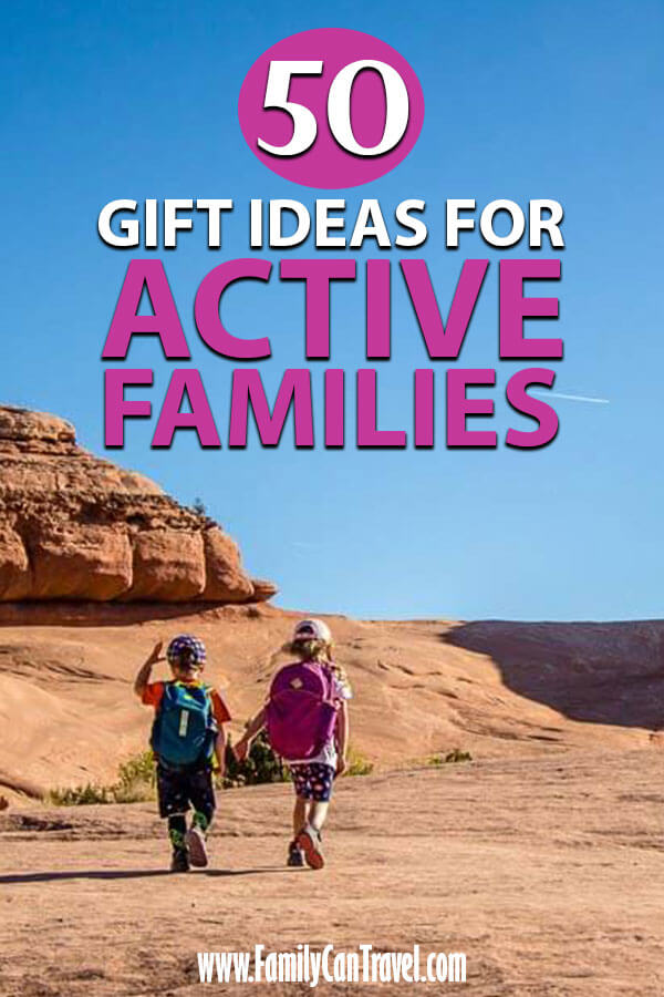 gifts for outdoorsy family