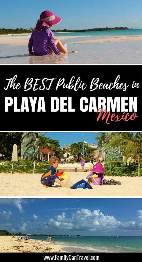 best public beach playa del carmen