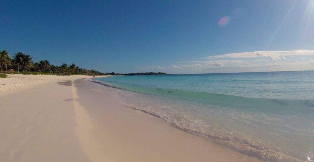 Xpu-ha is clearly one of the best beaches near playa del carmen