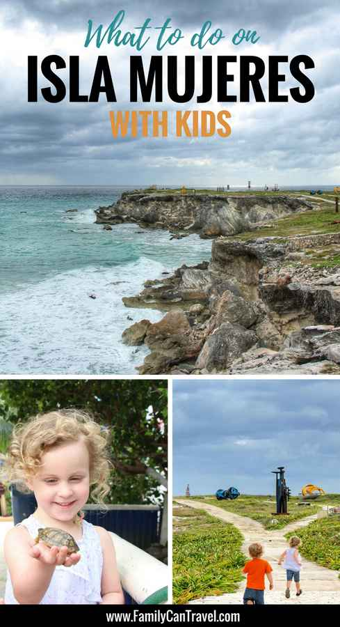 isla mujeres kids activities on a day trip from cancun