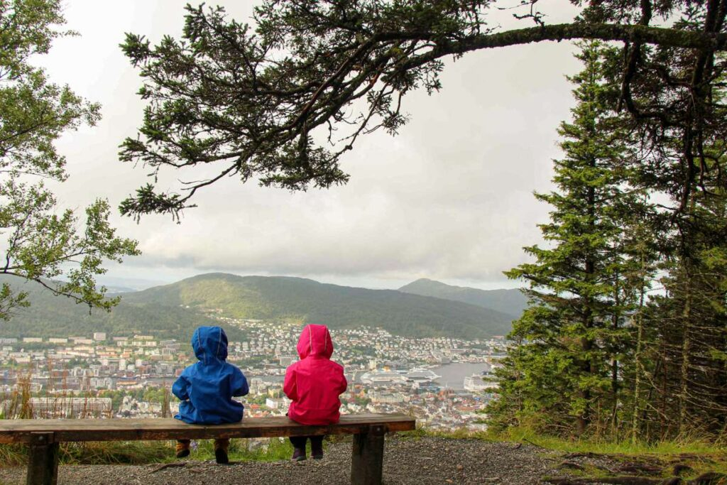 If you are traveling to Norway on a budget, try hiking to the top instead of taking the funicular