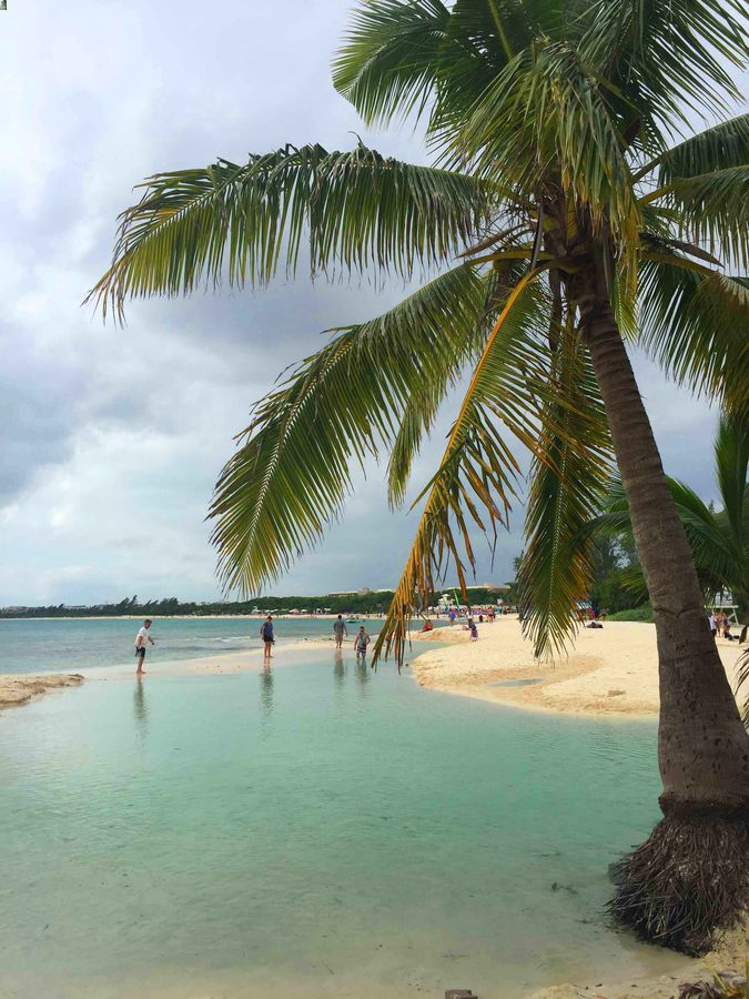 Punta Esmerelda beach is a family-friendly beach in Playa del Carmen