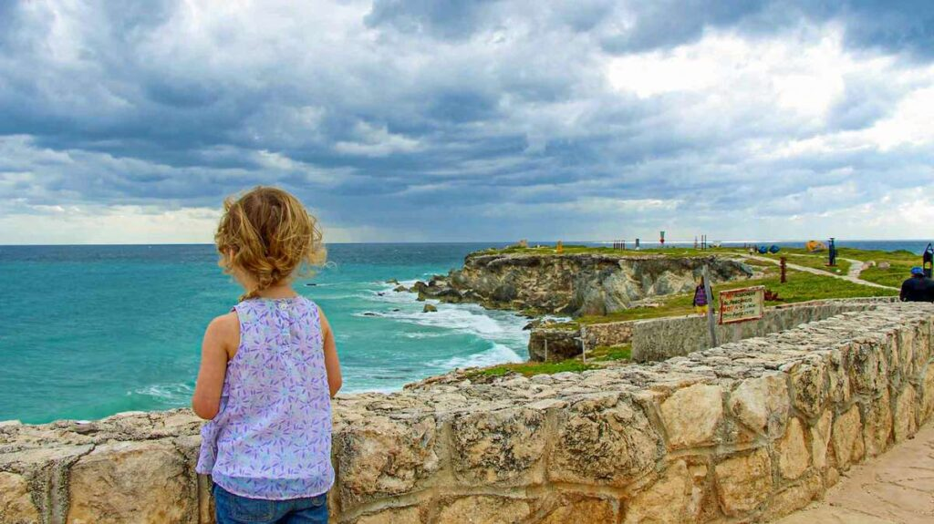 A trip to Punta Sur with a golf cart rental is a fun thing to do with kids on Isla Mujeres