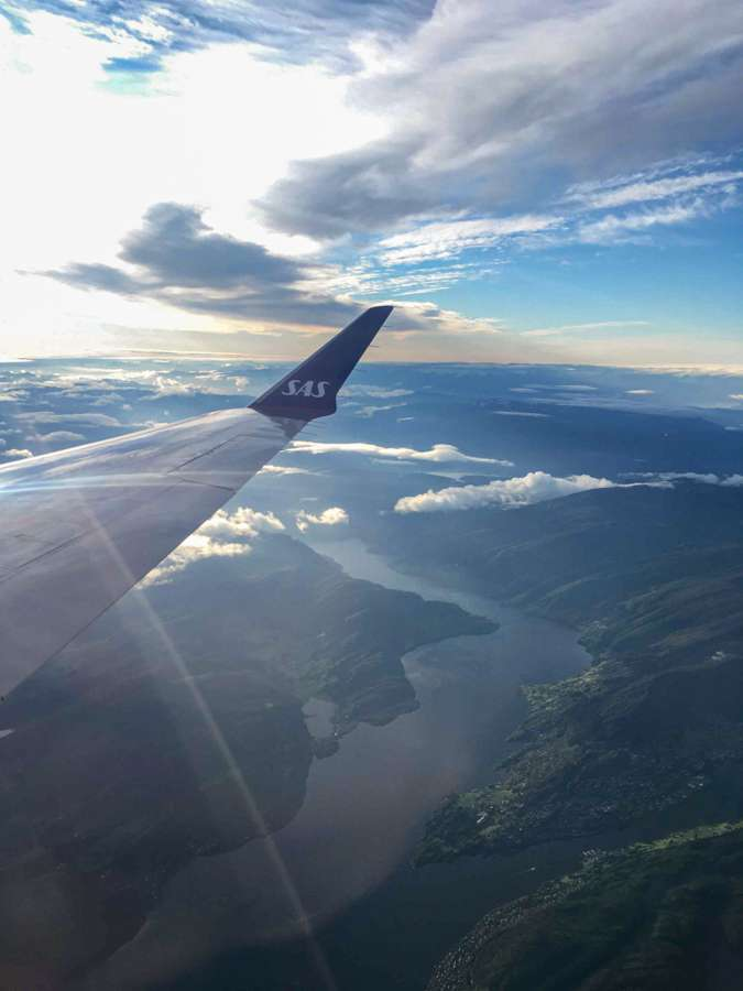 SAS Airline - domestic air travel in Norway is more affordable than you'd think
