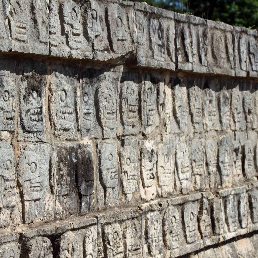 Amazing carvings are one of the many reasons Chichen Itza is one of the best Mayan ruins in Mexico