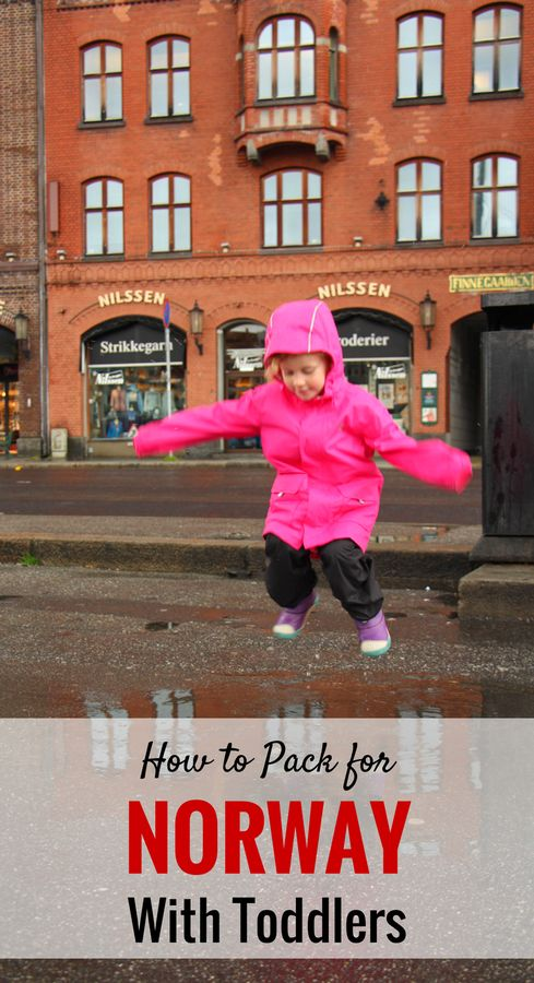 Packing Tips for Travel to Norway with kids