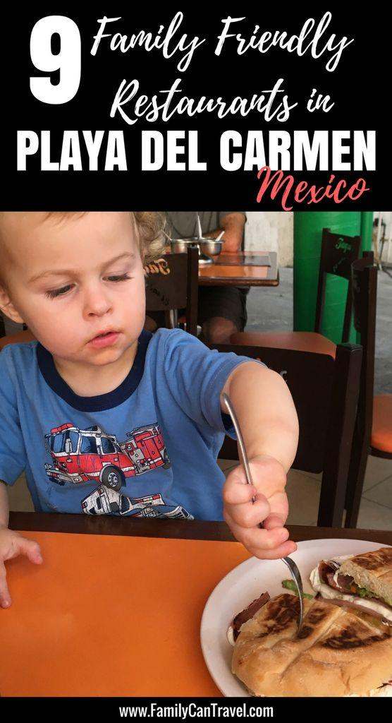 8 Best Restaurants in Playa del Carmen with kids