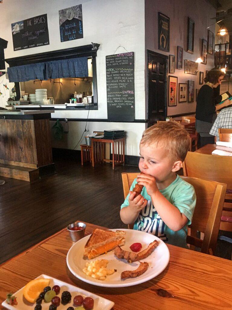 Family-friendly restaurants in Wilmington - The Basics