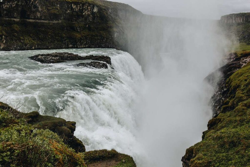 what to do in iceland with kids - Gullfoss waterfall in Golden Circle