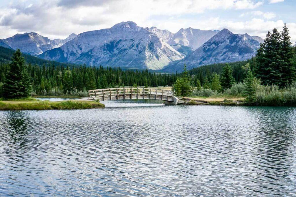 Cascade Ponds Picnic Area in Banff National Park