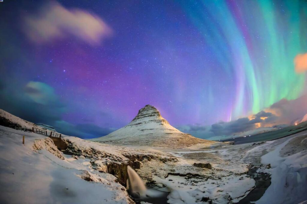 things to do in iceland with kids - See the northern lights in winter
