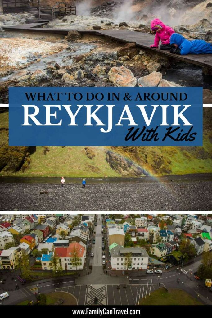 If you are going on an Iceland family vacation then chances are you'll spend some time in Reykjavik with kids. Here are our favourite things to do with kids around Reykjavik, Iceland. | Family Travel | Iceland | #iceland #bluelagoon #reykjavik #familytravel