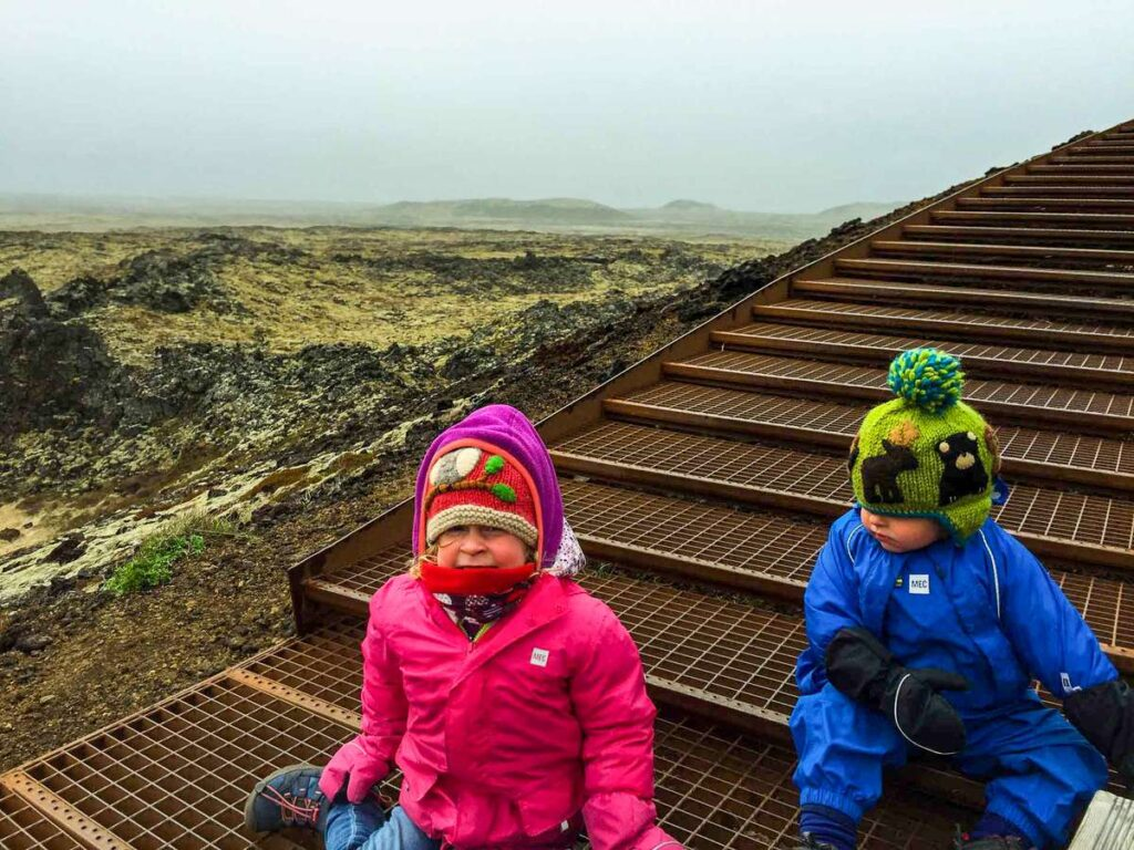 things to do in snaefellsnes iceland with kids - Saxholl Crater - Snaefellsjoekfull National Park