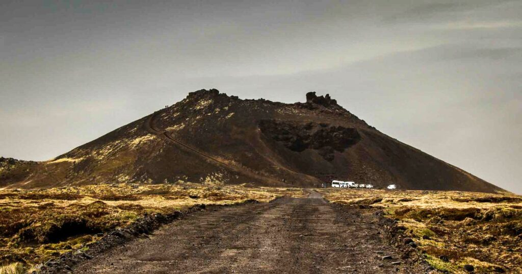 Things to do in the Snaefellsnes Peninsula with Kids - Saxholl Volcano Crater - Snaefellsjoekfull National Park Iceland