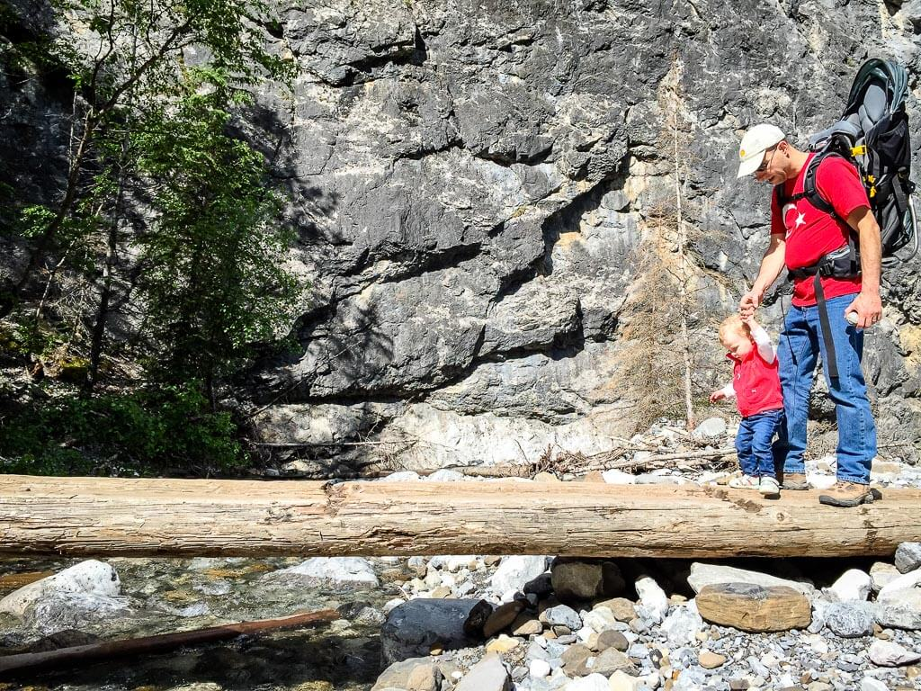 Hike Heart Creek Trail in Kananaskis with Kids