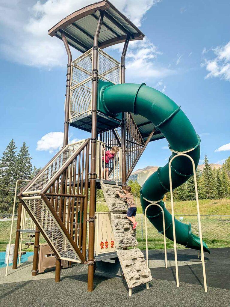 Lake Louise Playground - Banff National Park