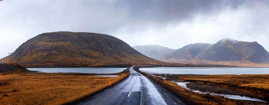 Family road trip in Iceland's Snaefellsnes Peninsula