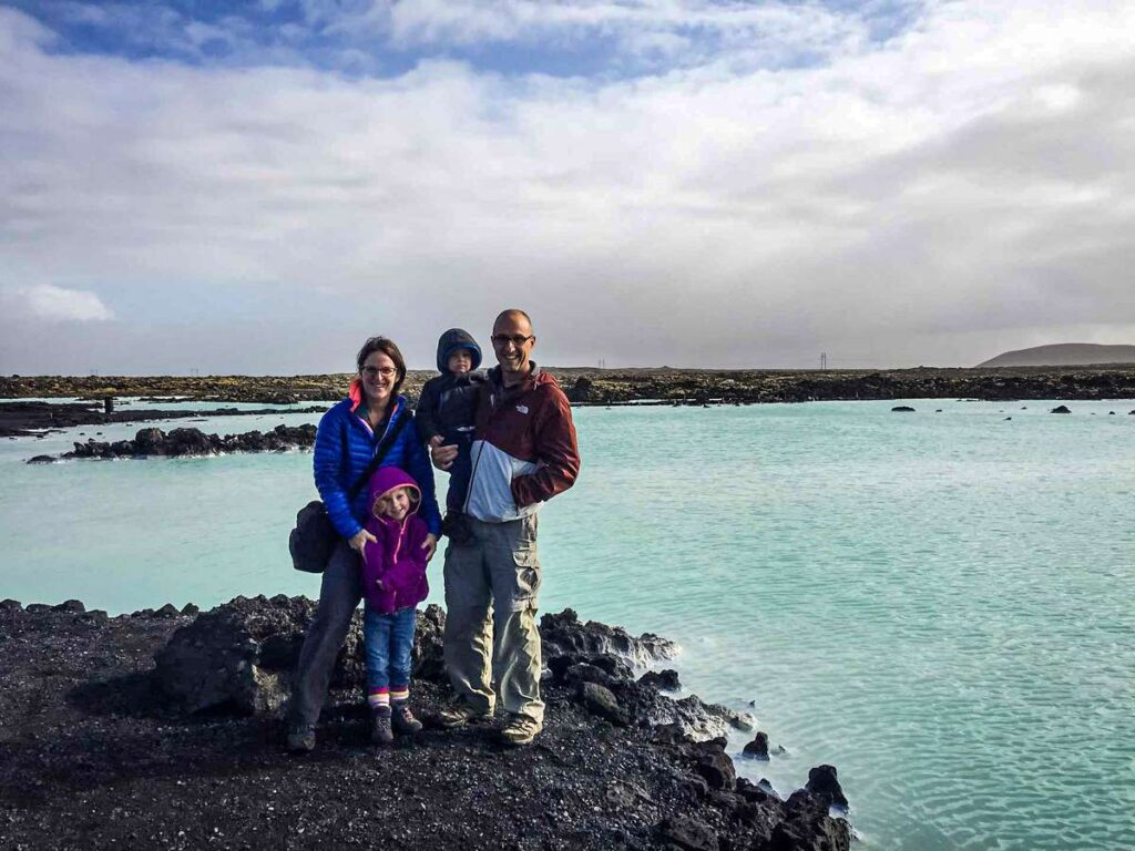 If you visit Iceland with kids, don't miss the kid-friendly Blue Lagoon