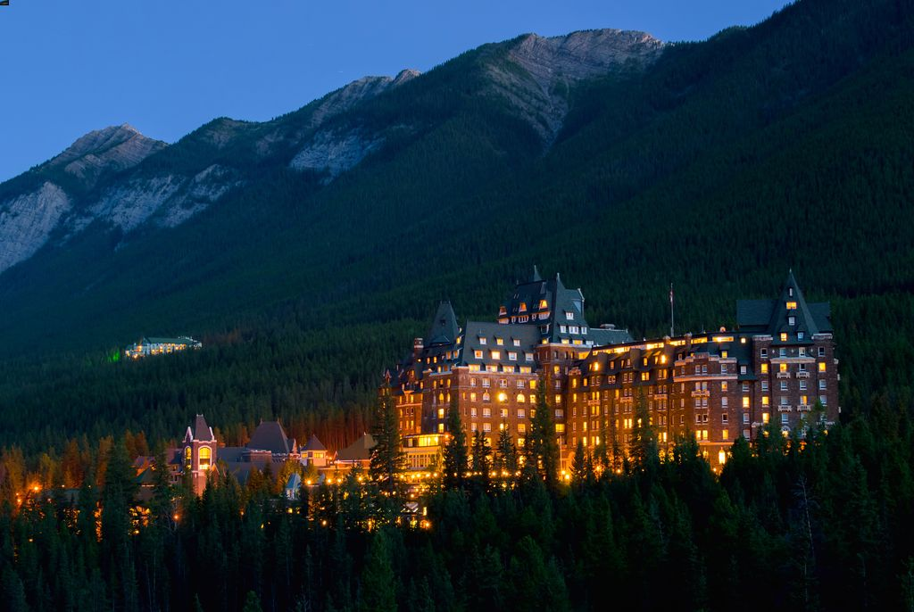 Fairmont Banff Springs Hotel for a Luxury stay in Banff
