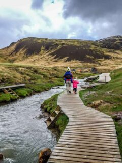 Visit the Golden Circle with kids on an Iceland Family Vacation