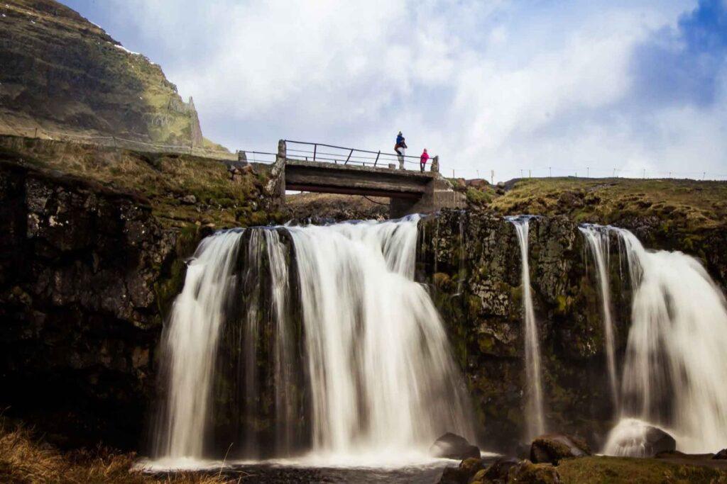 things to do on the snaefellsnes peninsula iceland with kids - Kirkjufellsfoss
