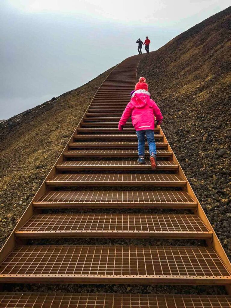 Things to do in the Snaefellsnes Peninsula with Kids - Saxholl Crater - Snaefellsjoekfull National Park