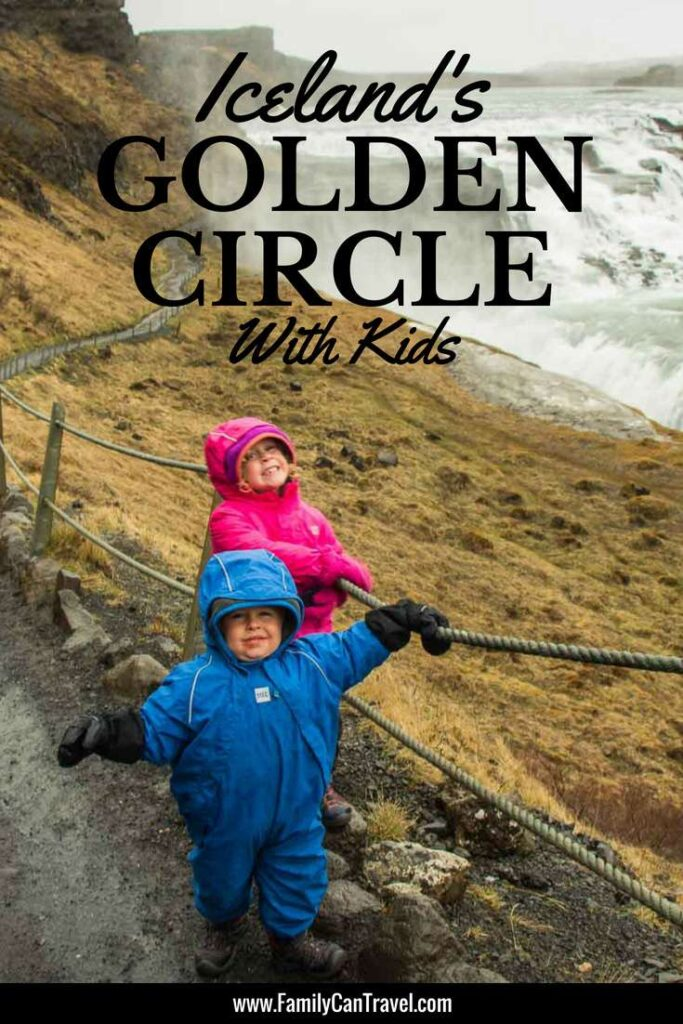 The Golden Circle in Iceland is a great area to visit with kids. You can do it either as a day trip or spend the night in the Golden Circle to beat the crowds. Click to Read More   Family Travel   Iceland with Kids   #familytravel #iceland #goldencircle