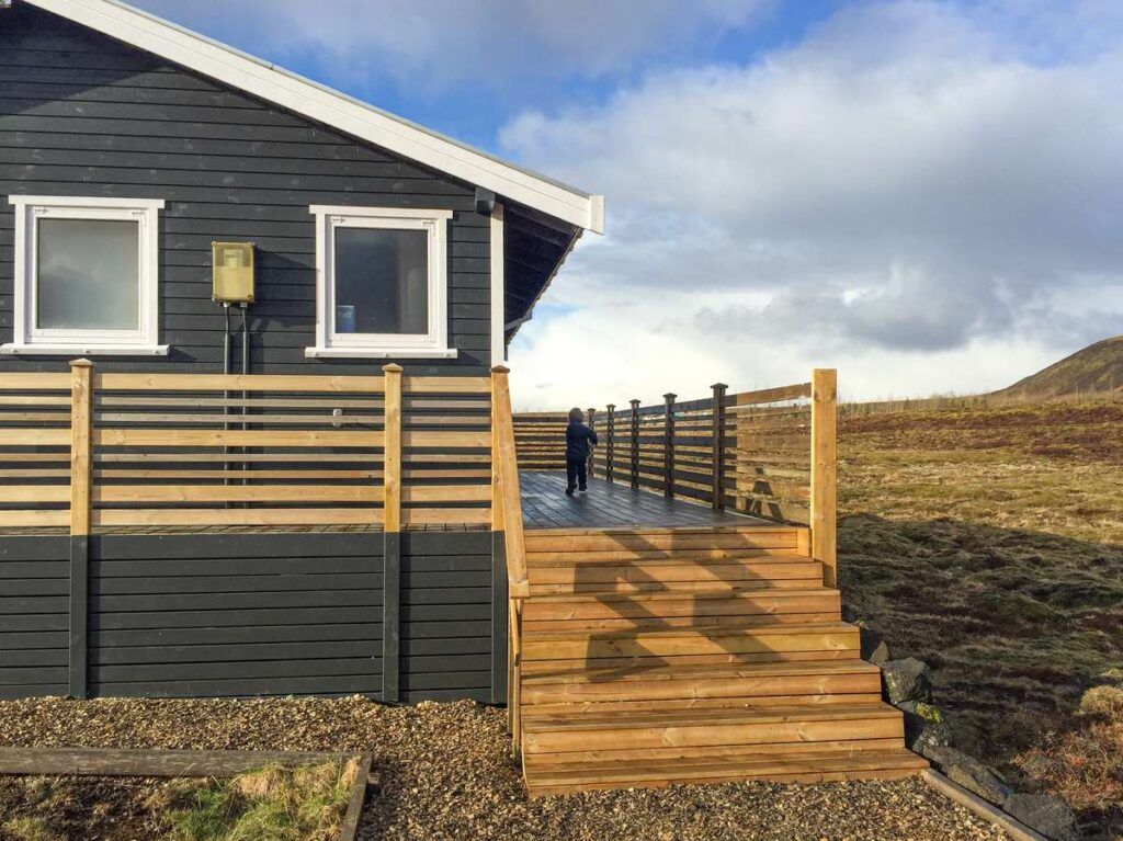 where to stay on family trip to Iceland