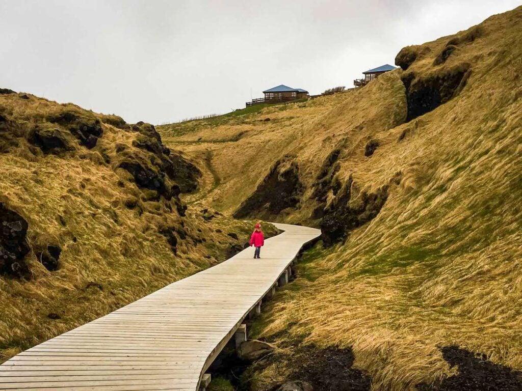 hiking snaefellsnes peninsula iceland - Arnarstapi to Hellnar coastal walk