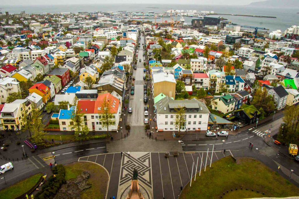 things to do in Reykjavik with kids - Hallgrimskirkja church observation deck