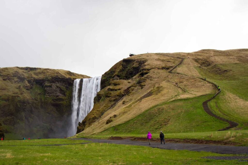 things to do in iceland with kids - Skogafoss Waterfall South Iceland