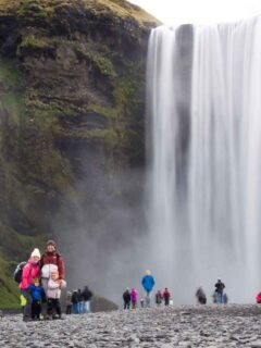 things to do in Reykjavik with Kids - Skogafoss Waterfall and Waterfall Way Hike