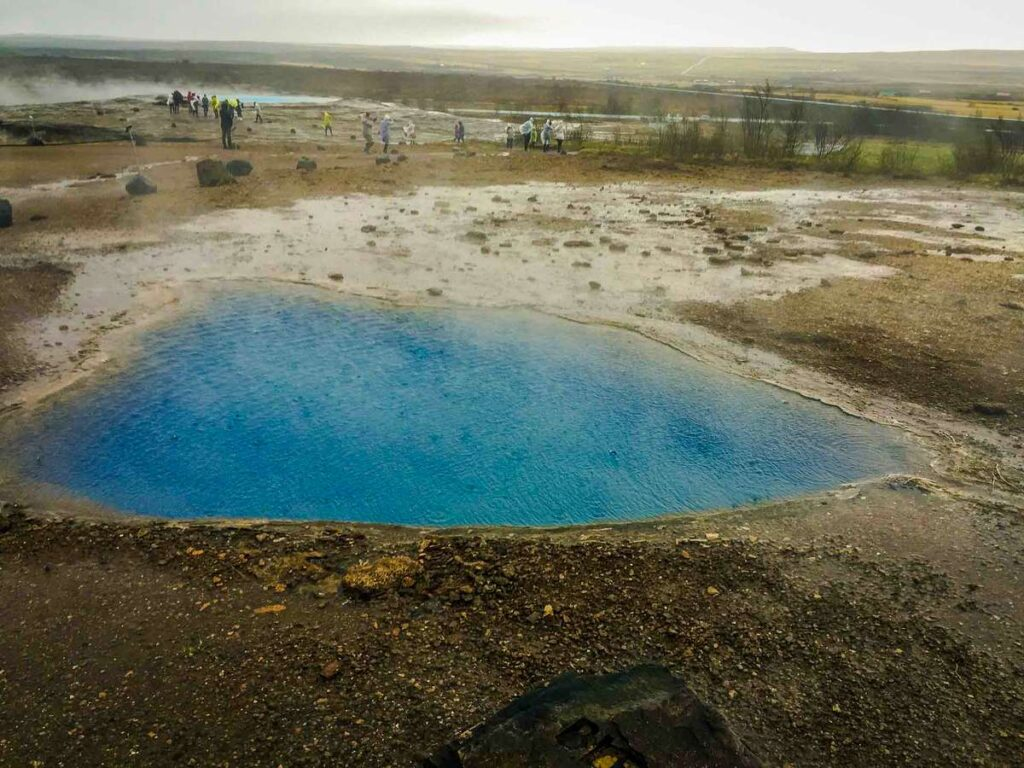 Iceland family vacation ideas - Geysir Golden Circle with kids