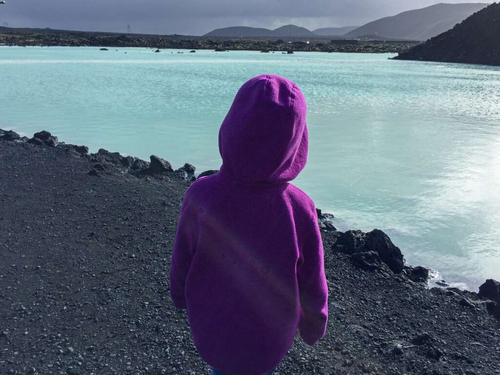 how to visit the blue lagoon with a baby or toddler