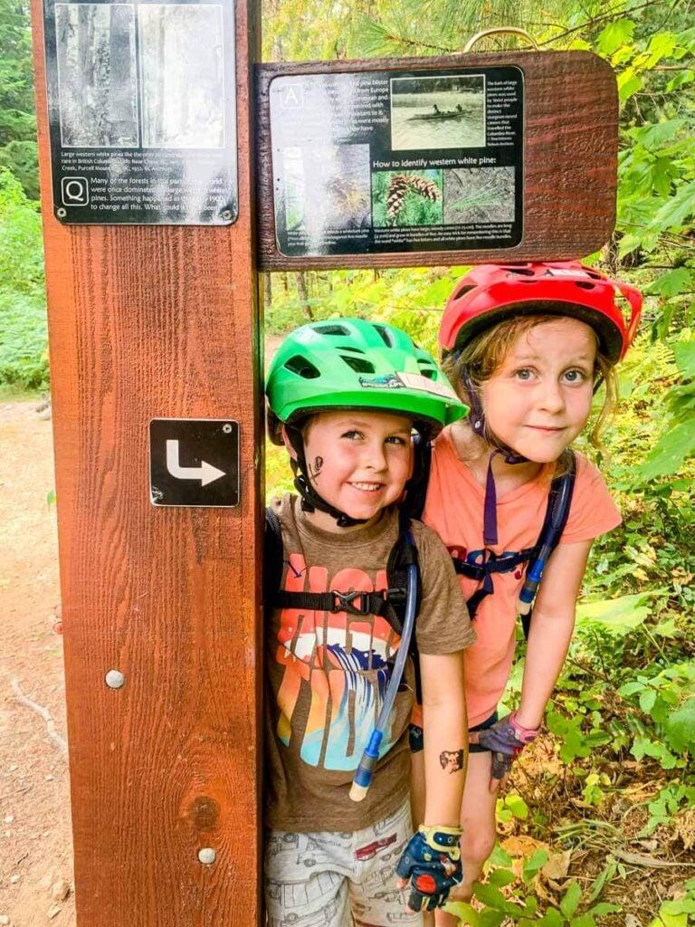 Easy Revelstoke biking trails - Soren Sorenson in Mount Revelstoke National Park
