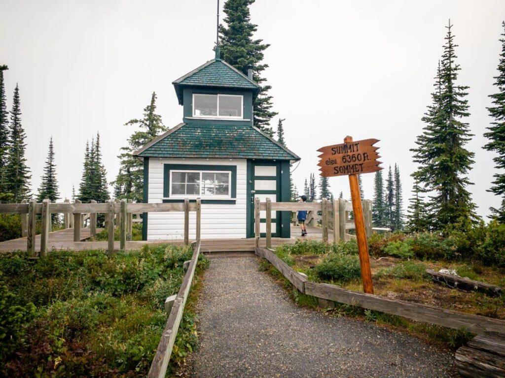 easy mount revelstoke hiking trails - Fire Lookout Trail