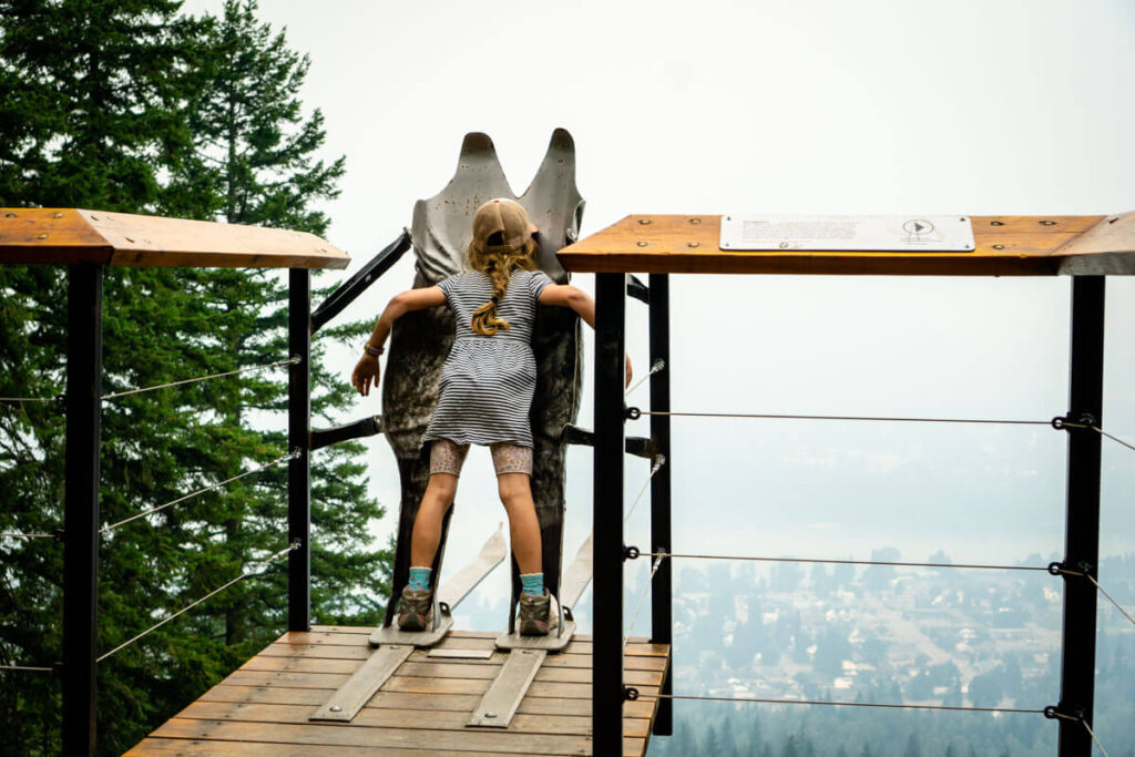 Nels Knickers is one of the most fun thing to do at mount revelstoke national park for kids