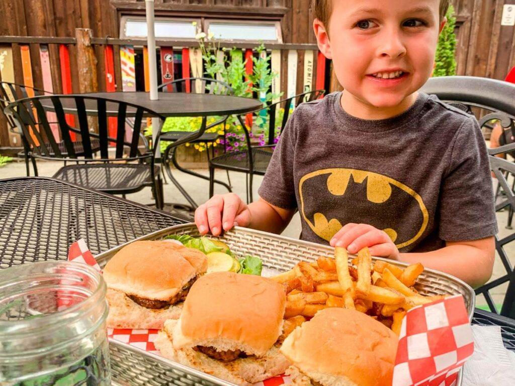 kid friendly revelstoke restaurants - Village Idiot Bar & Grill