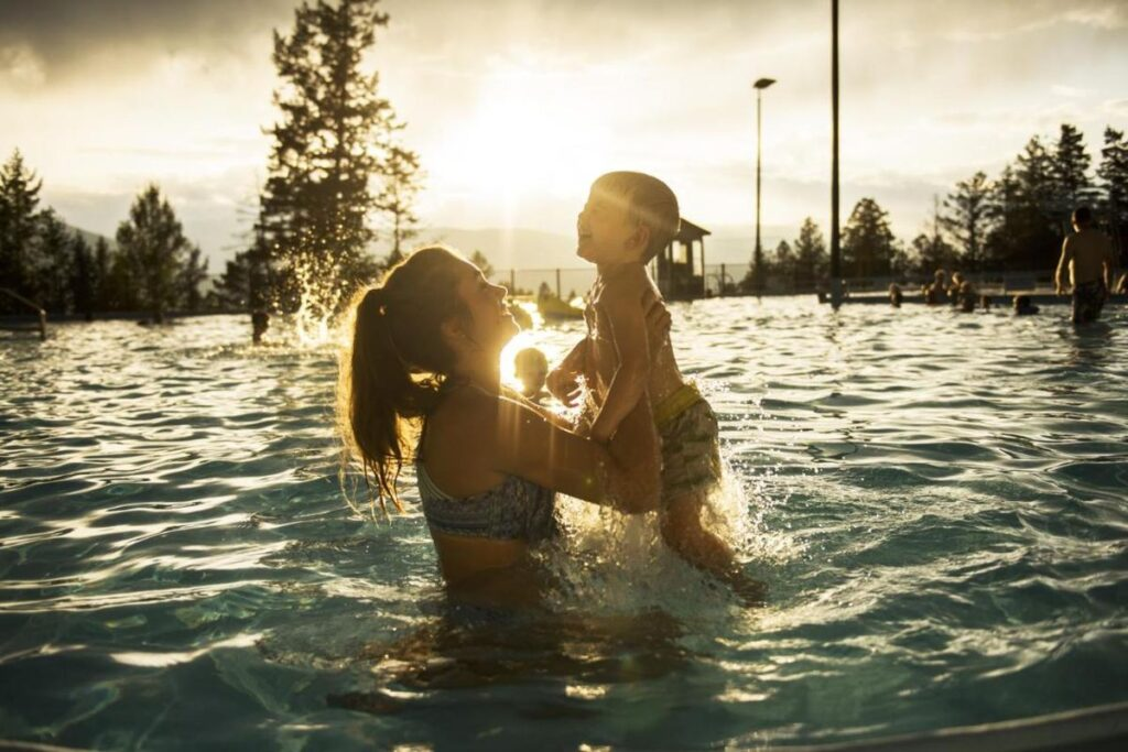The list of things to do with kids at the Fairmont Hot Springs Resort makes it one of the best family hotels near Invermere