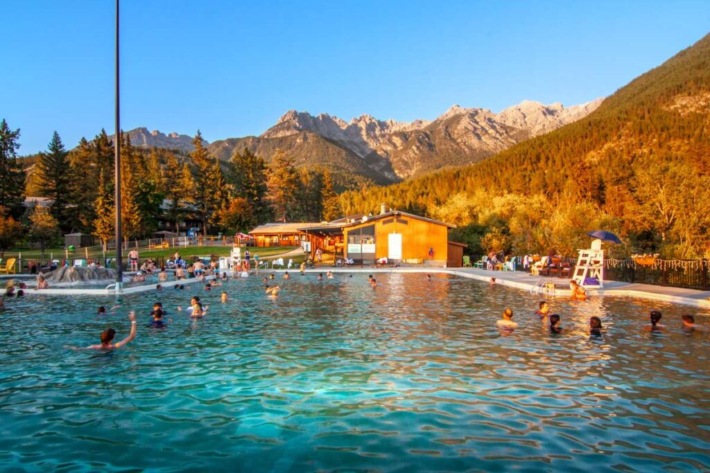 what to do in invermere - fairmont hot springs